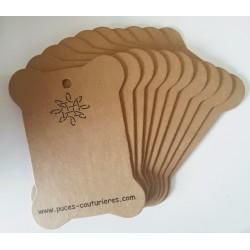 10 plaques cartonnette...