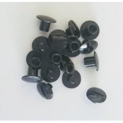 100 rivets a viser noir 8 x...