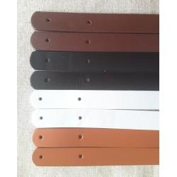 Anses cuir plate 60 cm (la...