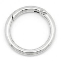 10 fermoirs anneaux de...