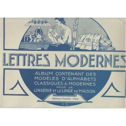 """Livret """"LETTRES MODERNES..."""