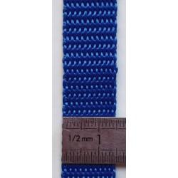 Sangle 15 mm coloris bleu...