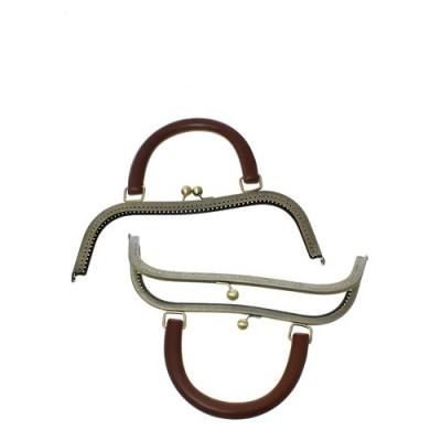 Fermoir sac coloris bronze...